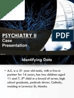 Psych Case Presentation