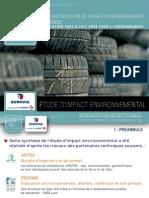 Reaménagement de Carrières - Impact Environnemental