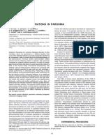 Gray Matter Alterations in Parosmia