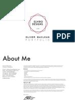 Oliver Maclean Portfolio