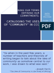 Cataloging Community in CCC powerpoint