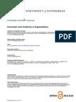 Potocnik Innovation and Creativity in Organisations