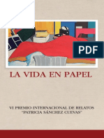 Libro_LA VIDA en PAPEL_VI Edicion Premio Int. de Relatos_Patricia Sanchez