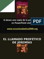 El Llamado Profetico de Jeremias