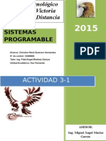 Actividad 3-1 Sistemas Programables