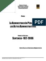51- SENTENCIA NUMERO 1-182-2006