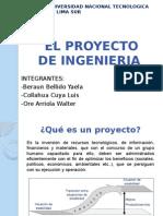 PROYECTOS DE INGENIERIA