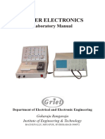 Power Converters Lab Manual