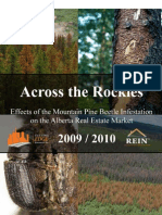 Effects of the Mountain Pine Beetle Infestation on the Alberta Real Estate Market