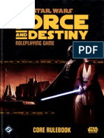 Force and Destiny Character Creation