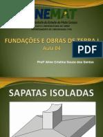 Aula 4 - Sapatas Isoladas PDF