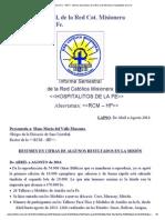 N° 6 - INFORME 04-2014 a 08-2014