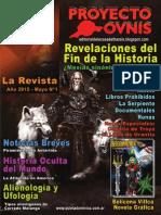 Proyecto Ovnis - La Revista - Nº1