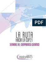 Ruta Hacia La COP21 Semanas Climáticas Final