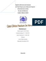 Fractura de Fémur Derecho