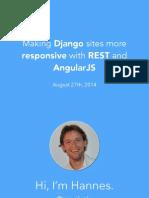 Django Rest Angular Guide
