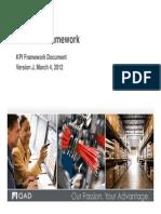 Kp i Framework QAD
