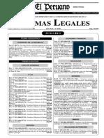 Ley 28172 Que Modifica Los Arts 15 y 23 de La Ley 27181 Ley General de Transporte