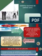 AUD II S1GEBL1Sistema Nacional de Control