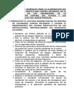 Lineamientos Generales Para La Elaboración Del Plan Para La Proteccion Contra Incendios en El Año 2014