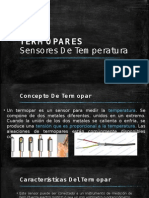 Termopares - Sensores de temperatura