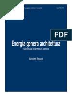 EnergiaGeneraArchitettura