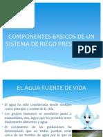 Componentes Basicos de Un Sistema de Riego Presurizado