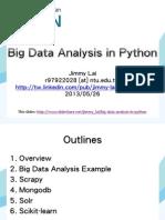 bigdataanalysisinpython-130525214135-phpapp02