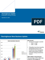 03 Clearinghouse Update