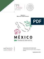 Distintivo Mexico Sin Trabajo Infantil