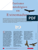 Turismo Ornitológico en Extremadura