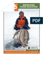 Montana 2015 Fishing regulations
