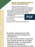 Enfoque Organizacional Parte 3
