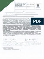 GCF-FO-029 Constancia de Retiro Voluntario y Terminación de La Relación Medico Paciente