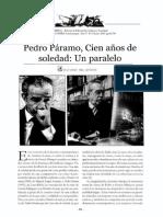 Pedro Páramo, Cien años de soledad