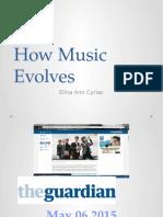 How Music Evolves