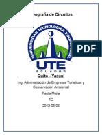 Guión Ruta Quito Yasuní