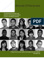 Shared Differences-Experiences of GLBT Students of Color