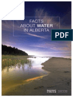 Facts about Water in Alberta, Canada