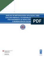 AnáLisis de MetodologÃ-As Aplicadas Para Evaluar Amenaza