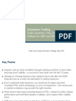 Dispersion Trades