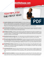 10 Tips Firstyear Web