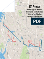 Proposed New Route for Restored B71 Bus