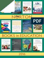 Norton Books in Education 2016