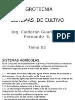 Tema 02. Sistemas de Cultivos