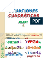 Problemas y Ecuaciones Cuadráticas p1.