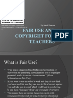 fair use and copyright