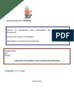 thesis handbook sunyit