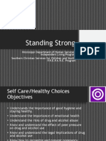 Presentation - Standing Strong