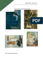 Φύλλο Εργασίας, Pablo Picasso